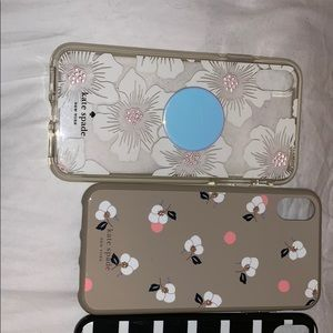 iPhone XS Max used Kate spade ♠️ cases (5)